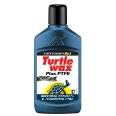 Полироль Turtle Wax plus PTFE 300ml