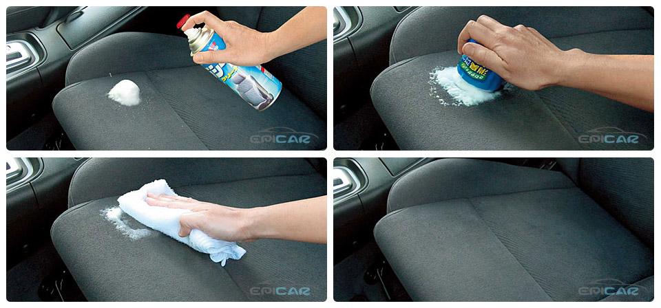 Как почистить кресло автомобиля своими руками 30