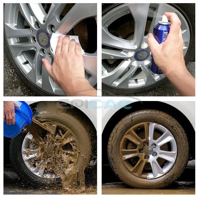 Грязеотталкивающий эффект Wheel Dust Blocker