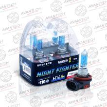 Лампа высокотемпературная Avantech H16 12V 19W (30W) 5000K, AB5016, комплект 2 шт.