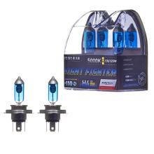 Лампа высокотемпературная Avantech H4 12V 60/55W (135/125W) 5000K, AB5004, комплект 2 шт.