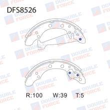 Колодки тормозные барабанные Double Force DFS8526