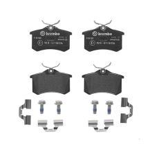 Дисковые тормозные колодки BREMBO P85020