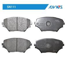 Дисковые тормозные колодки ADVICS SN111