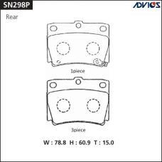 Дисковые тормозные колодки ADVICS SN298P