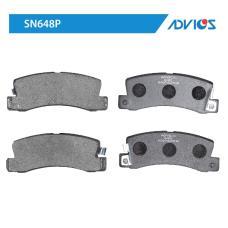 Дисковые тормозные колодки ADVICS SN648P