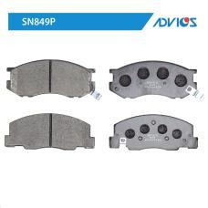 Дисковые тормозные колодки ADVICS SN849P