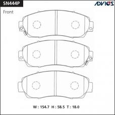 Дисковые тормозные колодки ADVICS SN444P