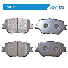 Дисковые тормозные колодки ADVICS SN125
