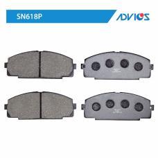 Дисковые тормозные колодки ADVICS SN618P