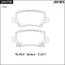 Дисковые тормозные колодки ADVICS SN177P