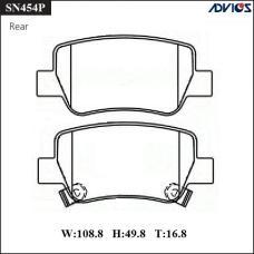 Дисковые тормозные колодки ADVICS SN454P
