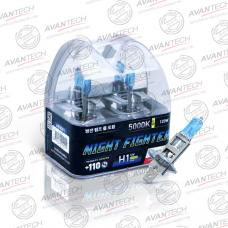 Лампа высокотемпературная Avantech H1 12V 55W (120W) 5000K, AB5001, комплект 2 шт.