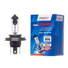 Лампа головного света Avantech H4 (HB2) 12V 60/55W, AB0013