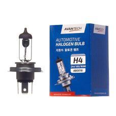 Лампа головного света Avantech H4 (HB2) 24V 100/90W, AB0016