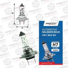 Лампа головного света Avantech H7 12V 55W, AB0018