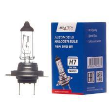 Лампа головного света Avantech H7 24V 70W, AB0020