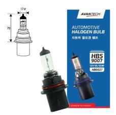 Лампа головного света Avantech 9007 (HB5) 12V 65/55W, AB0027