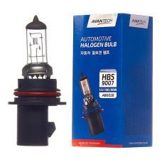 Лампа головного света Avantech 9007 (HB5) 12V 100/80W, AB0028