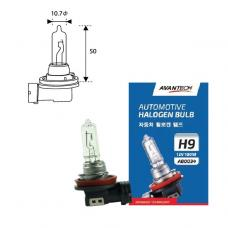 Лампа головного света Avantech H9 12V 100W, AB0034