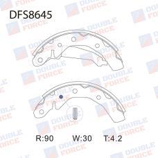 Колодки тормозные барабанные Double Force DFS8645