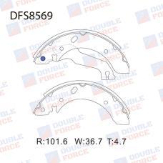 Колодки тормозные барабанные Double Force DFS8569