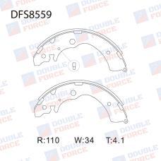 Колодки тормозные барабанные Double Force DFS8559
