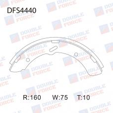 Колодки тормозные барабанные Double Force DFS4440