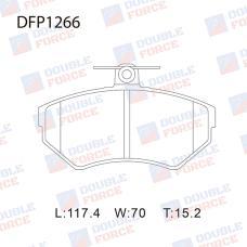 Колодки тормозные дисковые Double Force DFP1266