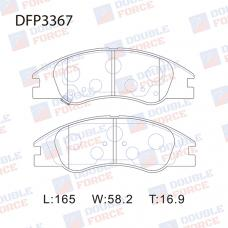 Колодки тормозные дисковые Double Force DFP3367