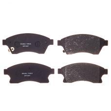 Колодки тормозные дисковые Double Force DFP1847
