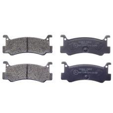 Колодки тормозные дисковые Double Force DFP375