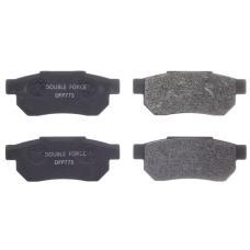 Колодки тормозные дисковые Double Force DFP775
