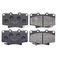 Колодки тормозные дисковые Double Force DFP1154