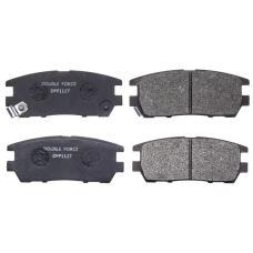 Колодки тормозные дисковые Double Force DFP1127
