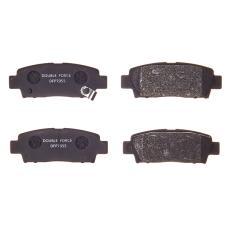 Колодки тормозные дисковые Double Force DFP7055