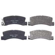 Колодки тормозные дисковые Double Force DFP1168