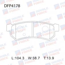 Колодки тормозные дисковые Double Force DFP4178