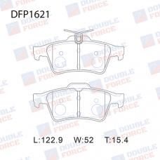 Колодки тормозные дисковые Double Force DFP1621