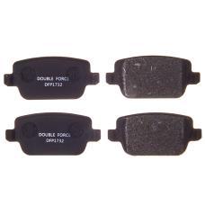 Колодки тормозные дисковые Double Force DFP1732