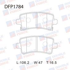 Колодки тормозные дисковые Double Force DFP1784
