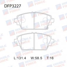 Колодки тормозные дисковые Double Force DFP3227