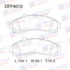 Колодки тормозные дисковые Double Force DFP4010