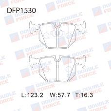 Колодки тормозные дисковые Double Force DFP1530