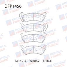 Колодки тормозные дисковые Double Force DFP1456