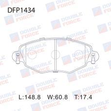 Колодки тормозные дисковые Double Force DFP1434