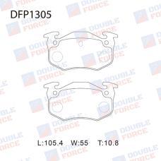 Колодки тормозные дисковые Double Force DFP1305