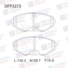 Колодки тормозные дисковые Double Force DFP3273