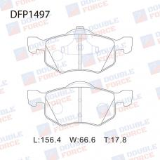 Колодки тормозные дисковые Double Force DFP1497