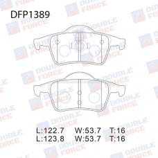 Колодки тормозные дисковые Double Force DFP1389